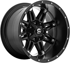 Fuel D531 HOSTAGE DEEP LIP MATTE BLACK 20x12