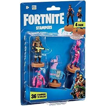 Multi Characters Sent at Random Fortnite FRT24000 Stampers 4 Pack-Series 1