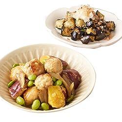 [冷凍] ミールキット Oisix 鶏団子と根菜の旨とろ煮 揚げなすのさっぱり煮びたし副菜付き 2人前
