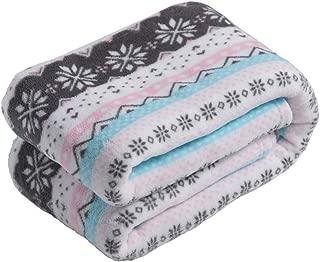 cozy stripe blanket