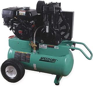 Speedaire 20 gal 90 HP Barrel Portable Gas Air Compressor - 4GB45