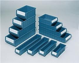 Estante caja PP azul L500xB234xH140mm