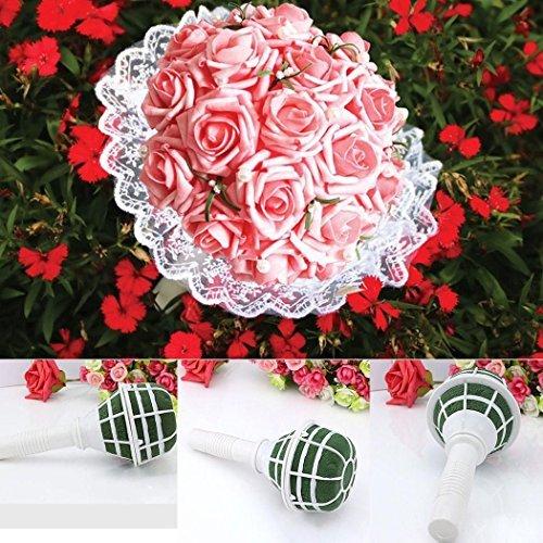 Bouquet support de mariage DIY Fleurs en mousse Décoration florale Poignée