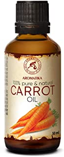 Karottenöl 50ml - 100% Rein und Natürlich - Karotin Öl - Beste Pflegeöl für Haut - Haare - Körperpflege - Carotinöl