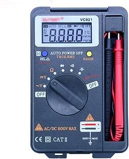 Hycy Multitester VC921 3999 DMM Vs Victor Vc921 Mini Integrated Handheld Pocket Digital Frequency Multimeter