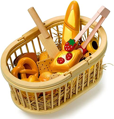 Picnic Basket with Cutting Tools
