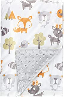 Fox Baby Blanket Boys Soft Minky Baby Blanket Fleece Baby Girl Security Fox Blanket Plush Dot Toddler Baby Newborn Blanket...