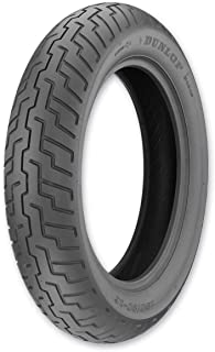 Dunlop D404 Front Motorcycle Tire 120/90-17 Tube Type (64S) Black Wall - Fits: Honda Shadow 750 ACE VT750C 1997-2005