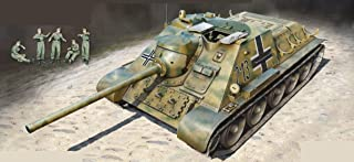MiniArt Plastic Model Tank JAGDPANZER SU-85 (R) with Crew 5 Figures 1/35 35229