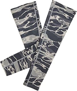 Mission VaporActive Arm Sleeves, Matrix Camo Moonless Night, Large/X-Large