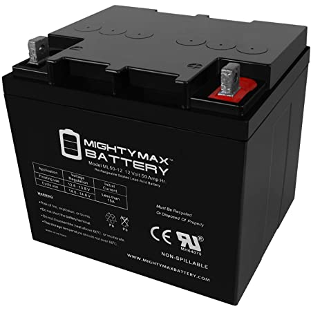 Mighty Max Battery 12V 50AH Replacement Battery for Minn Kota Endura C230 Brand Product