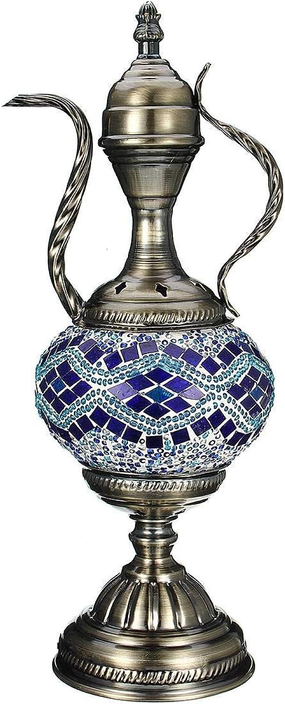 Lichtervorhang Deckenleuchte Retro Romantische Tischlampe Dekoratives Licht Türkische Lampe Glas Bunte Handgemachtes Für Zuhause Schlafzimmer Bar Café Art Decor Geschenk B