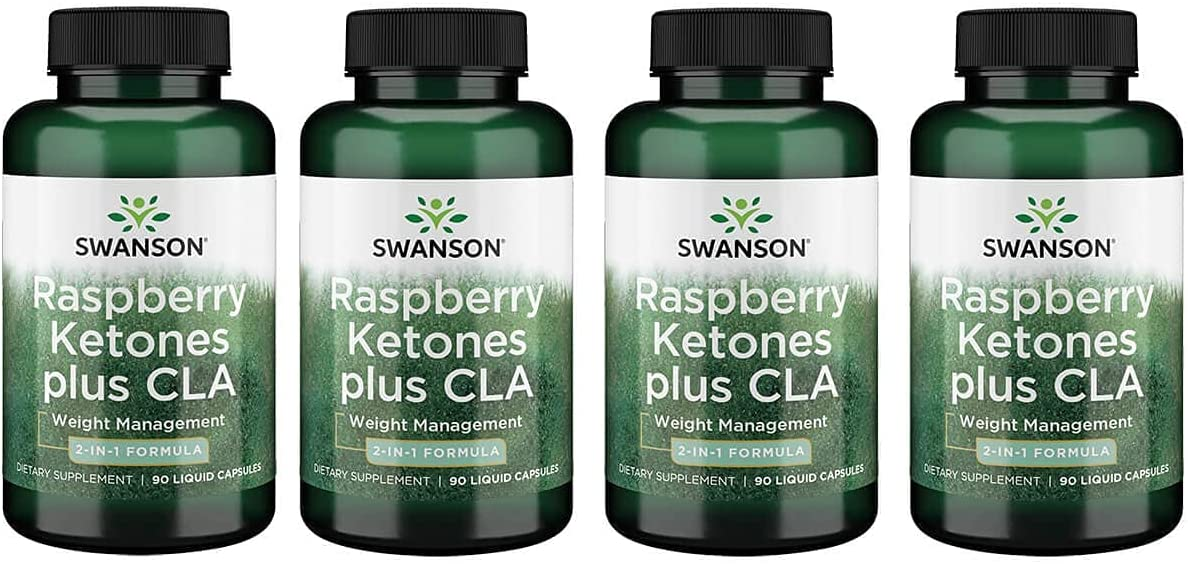 Swanson Raspberry Ketones Plus Cla Liq Pack Nippon regular agency 90 Capsules Reservation 4