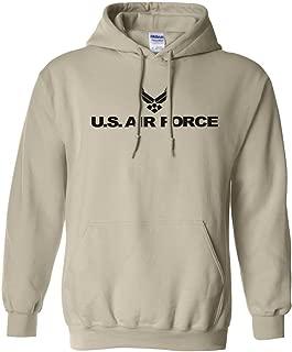 Air Force Hooded Sweatshirt in Sand