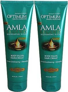 Optimum Amla Legend Body Fill Hair Cream Cond 8.5oz Tube (2 Pack)