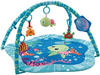 EMILYSTORES Baby Activity Play Gyms Playmats (Open Size 30 x30 Inch), Ocean Park