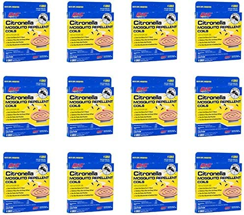 discount PIC Mosquito Repellent (12 Packs of 4) wholesale CIT 4, 2021 Citronella Coils online