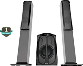 iBELL 2871TS 75-Watts 2.1 Tower Speaker Multimedia System with Bluetooth, FM Radio,AUX,USB Connectivity & SD|MMC Card Support
