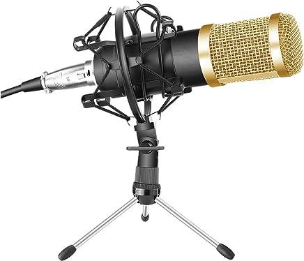 Scheam Microfono a condensatore, Set microfoni per Computer Laptop PC Microfono Podcast,per Registrazione Podcasting Chat in Linea - Trova i prezzi più bassi