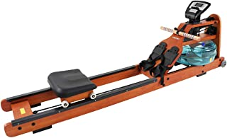 GENKI Water Rowing Machine Rower Home Gym Fitness Exercise Equipment with Electric Water Pump