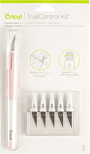 Cricut TrueControl Knife Kit - For Use As a Precision Knife, Craft knife, Carving Knife and Hobby Knife - For Art, Sc...