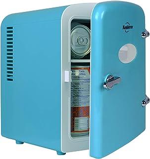 Koolatron KRT04 Mini Fridge Cooler And Warmer Portable Refrigerator Compact Personal Fridge Semiconductor Electronic Fridg...
