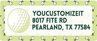Golf Return Address Labels (Personalized)