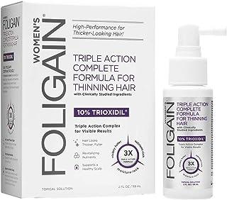 FOLIGAIN Lotion tegen Haaruitval voor Vrouwen - Bevat 10% Trioxidil - 59 ml