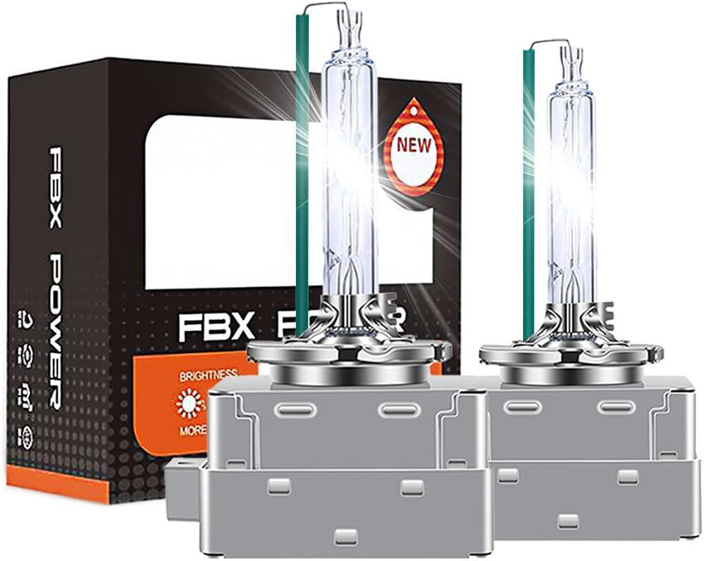 Briteye Bombillas D3S Xenon 35W 6000K Blanca 12V AC HID Lamparas Coche Luces De Xenon (2pcs)