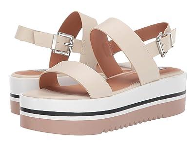 Steve Madden Adora Wedge Sandals (Bone) Women