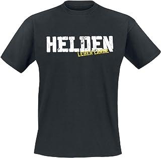 Böhse Onkelz Helden Leben Lange Männer T-Shirt schwarz Undefiniert Band-Merch, Bands, Nachhaltigkeit