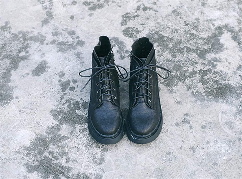 Xeb Outdoor-Kunstleder Reißverschluss Lackleder Paar Martin Stiefel  | Luxus  | Sale Online Shop