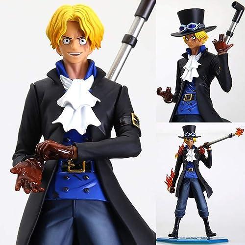 HYBKY Jouet Statue One Piece Jouet Modèle voituretoon Personnage Anime Décoration Décoration Saab   25CM Artisanat Statue d'anime