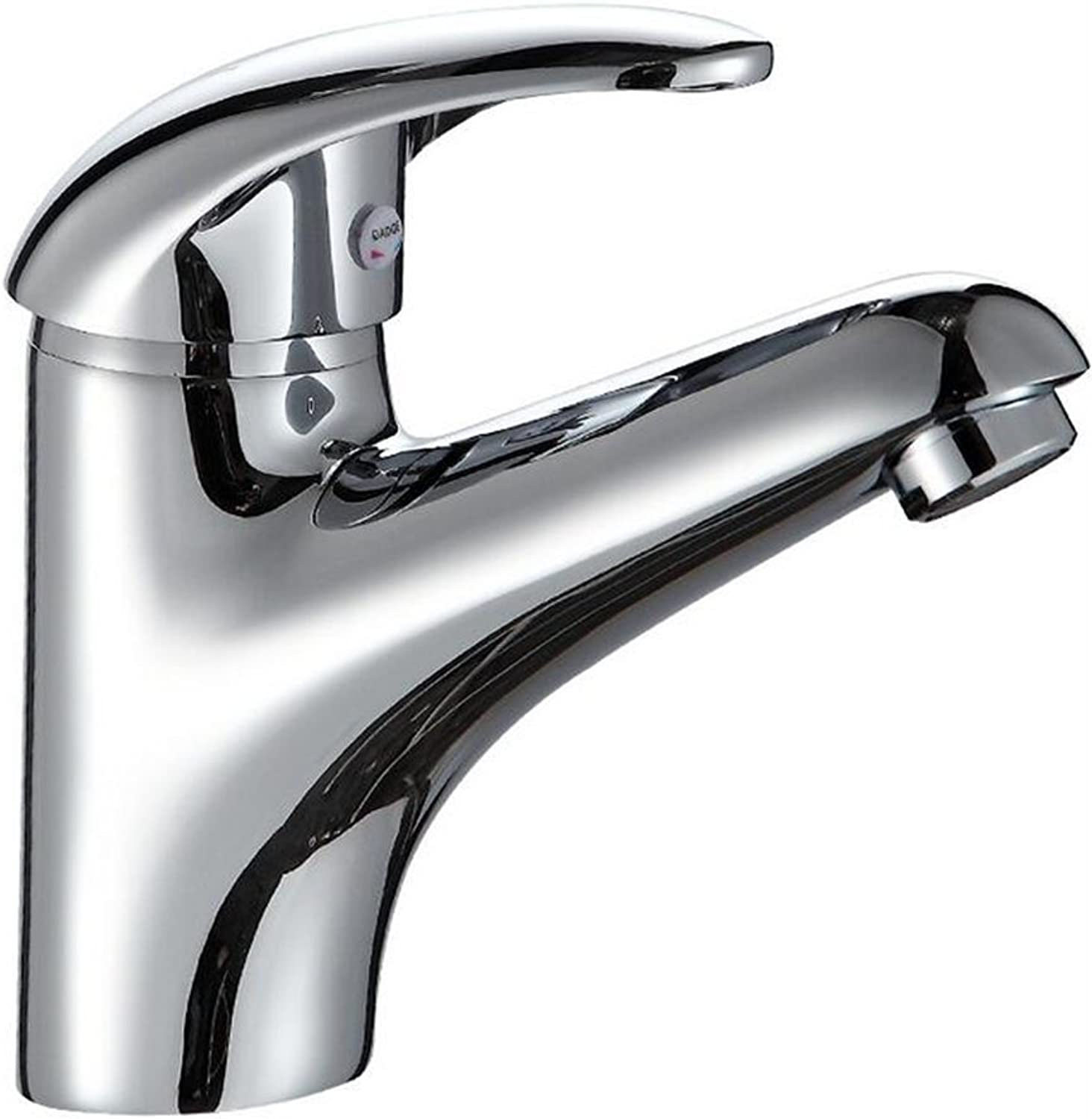 Single Hole Hot And Cold Water Single Hole Bathroom Ceramic Washbasin Basin Tap Faucet Bathroom Sink Taps