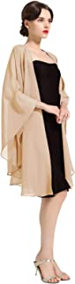 Shawl Wrap Chiffon Scarf For Women Evening Dresses Wedding Stole Black White Blue 25 Colors by BEAUTELICATE