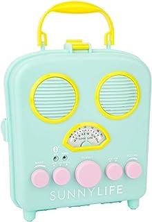 [SunnyLIFE] ポータブル ビーチ MP3 スピーカー AM/FMラジオとスマートフォンホルダー付き