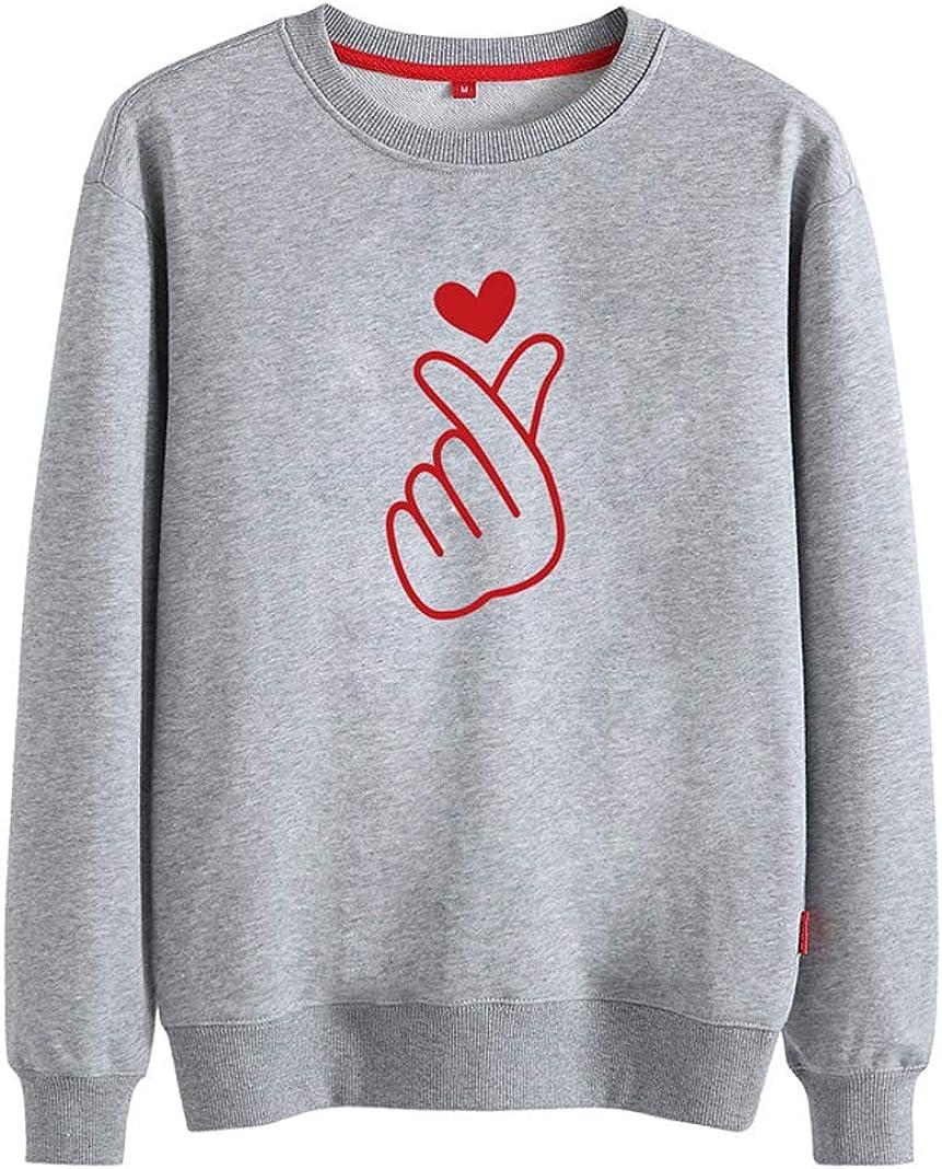 Qinni-shop Toddler Boys Girls Kids Funny Print Pullover Sweatshirt Crew Neck Sweater