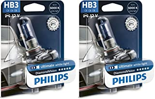 PHILIPS Diamond Vision 9005 HB3 Halogen HID Bulbs (Pack of 2)