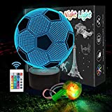 SCRENDY Among Us 3D Night Lights, 3D Illusion Lamp 16 Color Changing Touch Table Desk Lamp for Kids Bedroom with...