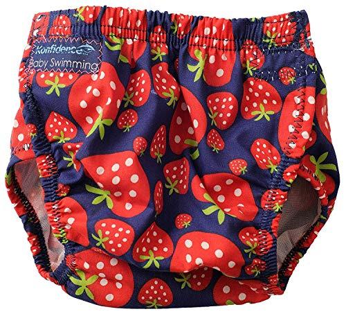 Konfidence Baby Schwimm-Windel rot Strawberry Einheitsgröße