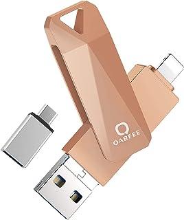 Clé USB pour iPhone 32 Go| Fortise Lecteur Flash Drive| avec Connecteur Extension de Stockage Mémoire Stick| sur iOS Andri...