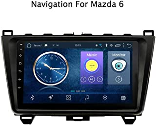 Steering Wheel Control,2G RAM 32G ROM BT Hands-Free Call Android 8.1 Car Head Unit Radio GPS Navigation for Mazda 6 Rui Xing 2008-2015 Multimedia Player