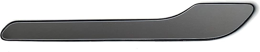 Custom Cut Graphics Tesla Model 3 Door Handle Wrap (Matte Black)