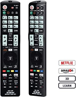Gvirtue Universal Remote Control SM-1LC Compatible Replacement for Samsung TV 3D/SMART/SUHD/QLED/LED/LCD/LEARN/4K with NEF...