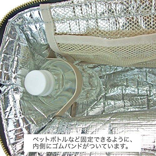アットファースト保冷ランチバッグLサイズカラーズブラックAF5997