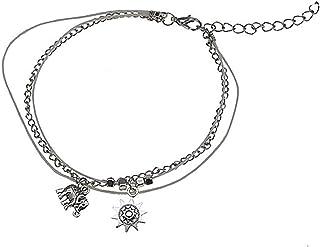 Cavigliere vintage a forma di stella di elefante stella marina, braccialetto regalo per San Valentino compleanno
