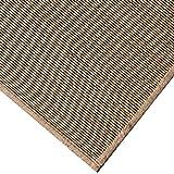 JIAJUAN Giapponese Tradizionale Tappeto bambù Intrecciato Antiscivolo Traspirante Grande Pavimento Stuoia La Zona Tappeti Materasso Facile da Pulire (Colore : B, Dimensioni : 150x200cm)