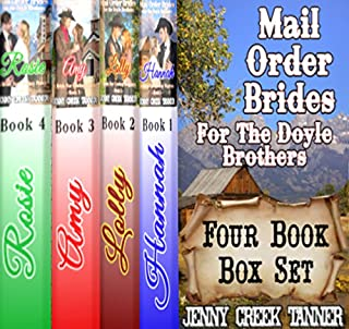 Mail Order Brides for the Doyle Brothers audiobook cover art