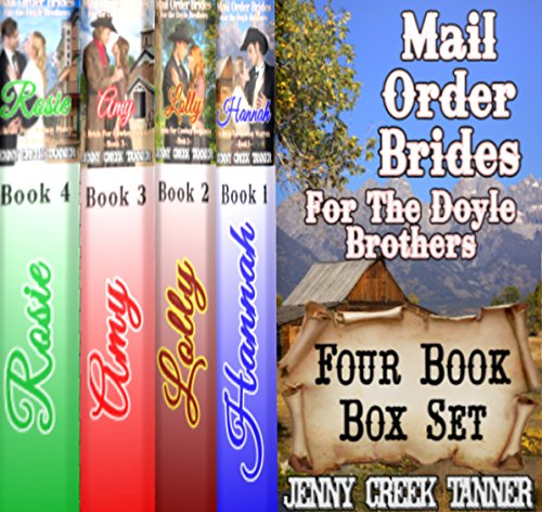 Mail Order Brides for the Doyle Brothers cover art