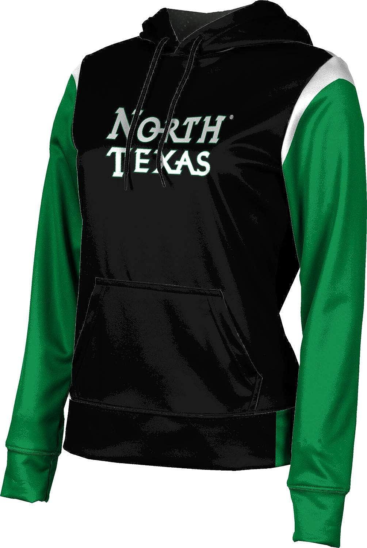 University of North Texas Girls' Pullover Hoodie, School Spirit Sweatshirt (Tailgate)